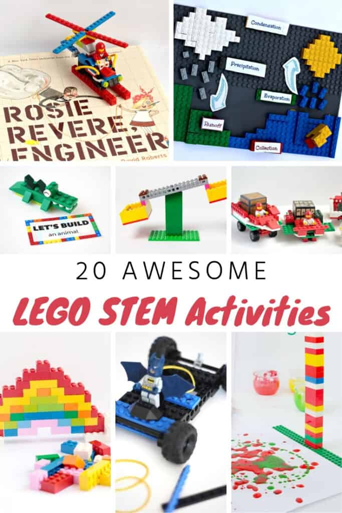20 Lego Stem Activities For Kids Of All Ages The Kindest Way