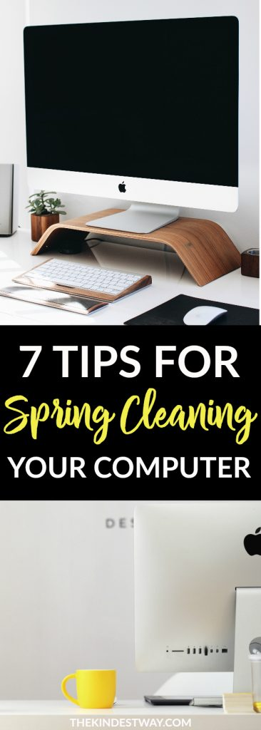 7 Hacks for Spring Cleaning your Computer. Spring Cleaning | Cleaning Computer | Cleaning Hacks | Computer Hacks #springcleaning #computer #cleaning