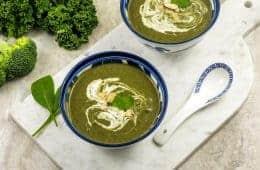 Green Goddess Vegan Soup.