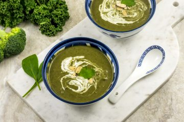 Green Goddess Vegan Soup.