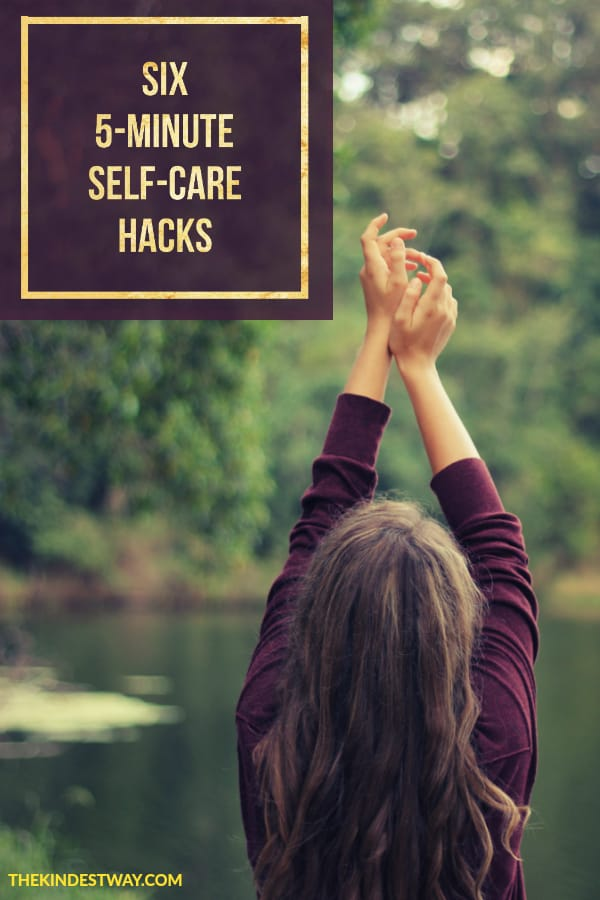 If you want to practice self-care but you're short on time, we've got you covered! These six 5-minute self-care hacks are sure to improve your wellbeing. And anyone can do them! Check them out now.