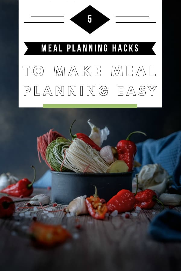 Meal planning doesn't have to be a drag with these amazing meal planning hacks! Make meal planning easy with our expert tips! #mealplanning #healthyfood #Healthy #hacks