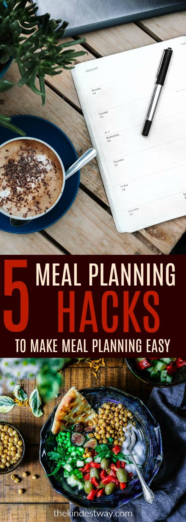 Meal Planning | Meal Planning Ideas | Meal Planning Hacks | Easy Meal Planning | Family Meal Planning | Meal Planning for Beginners | Meal Planning on a Budget |