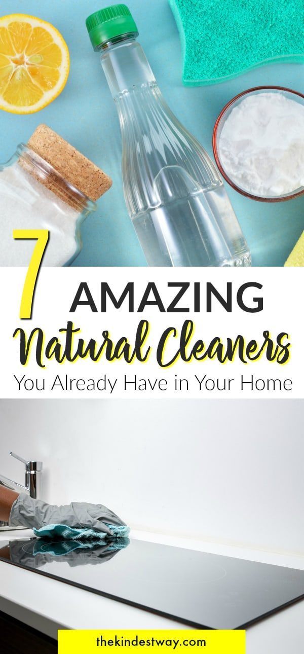7 Amazing Natural Cleaning Products you Already Have in Your Home.  Natural Cleaning | DIY Cleaning Products | Eco-Friendly Cleaning Products | Natural Cleaners #eco #natural #cleaning #home #DIY