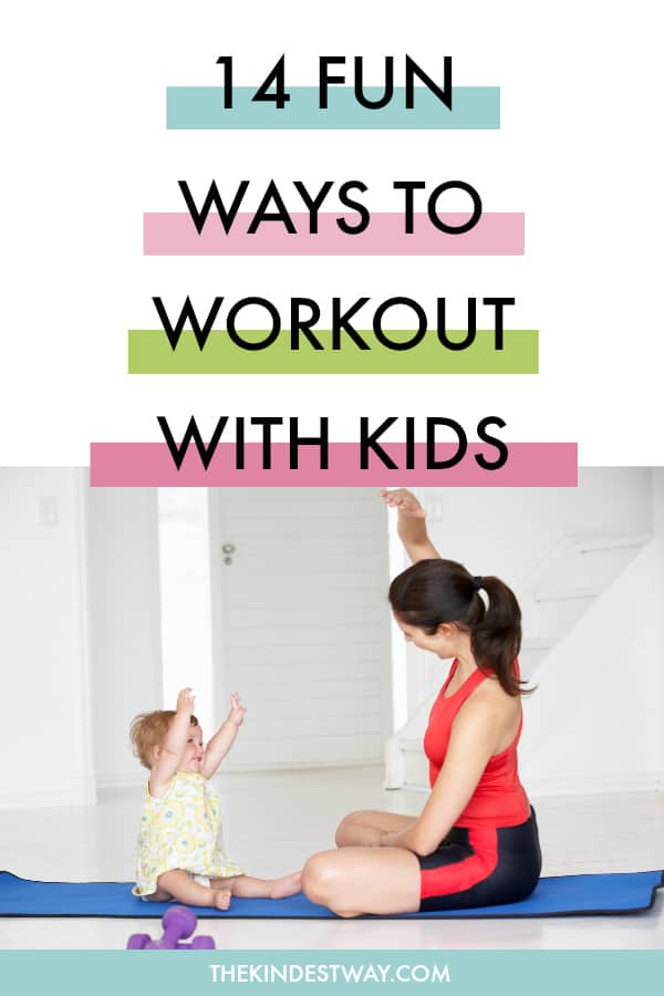 14 Fun workouts you can do with your kids! Fitness | Family Workouts | Working Out | Family Fitness | Workout Motivation | Fitness Motivation #fitness #workout #family #kids
