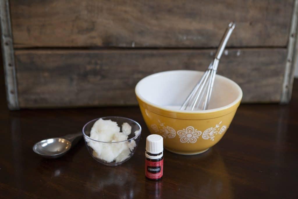 Lemongrass Sugar Scrub with Young Living Essential Oil