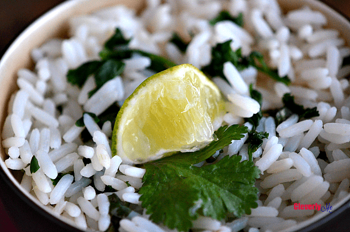 Instant Pot Lime Cilantro Rice Recipe. Best vegan Instant pot recipes
