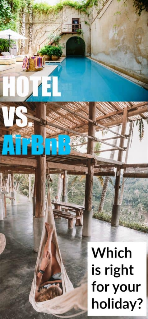 Hotels vs Airbnb's - Which is the right choice for your family? #vacation #family #accommodation