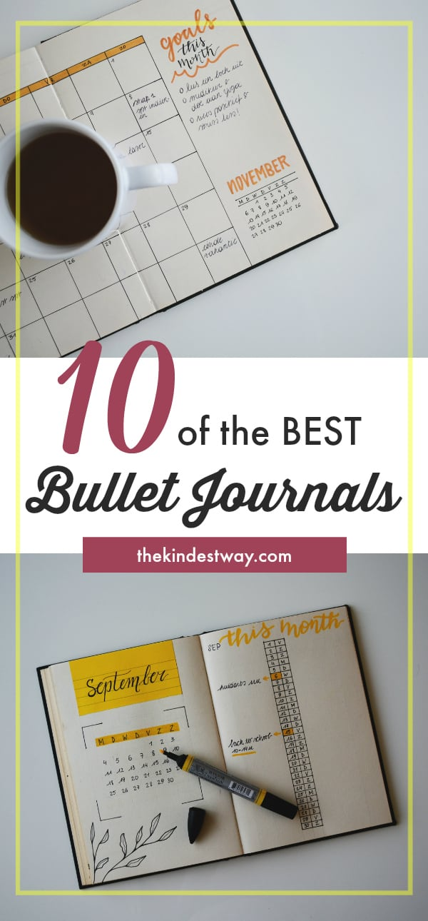 Bullet Journals | Best Bullet Journals | Bullet Journal Ideas | Bullet Journal Inspiration | Bullet Notebook Journal | Best Notebooks for Journalling | How to Start a Bullet Journal