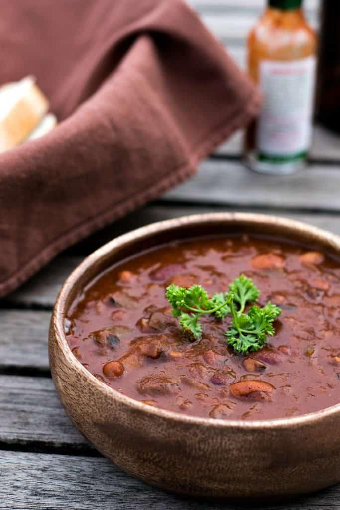 instant pot vegan chili recipe