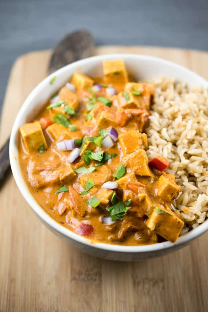 Tofu Tikka Masala vegan crock pot recipes