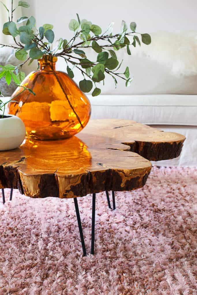 DIY Live Edge Coffee Table Project