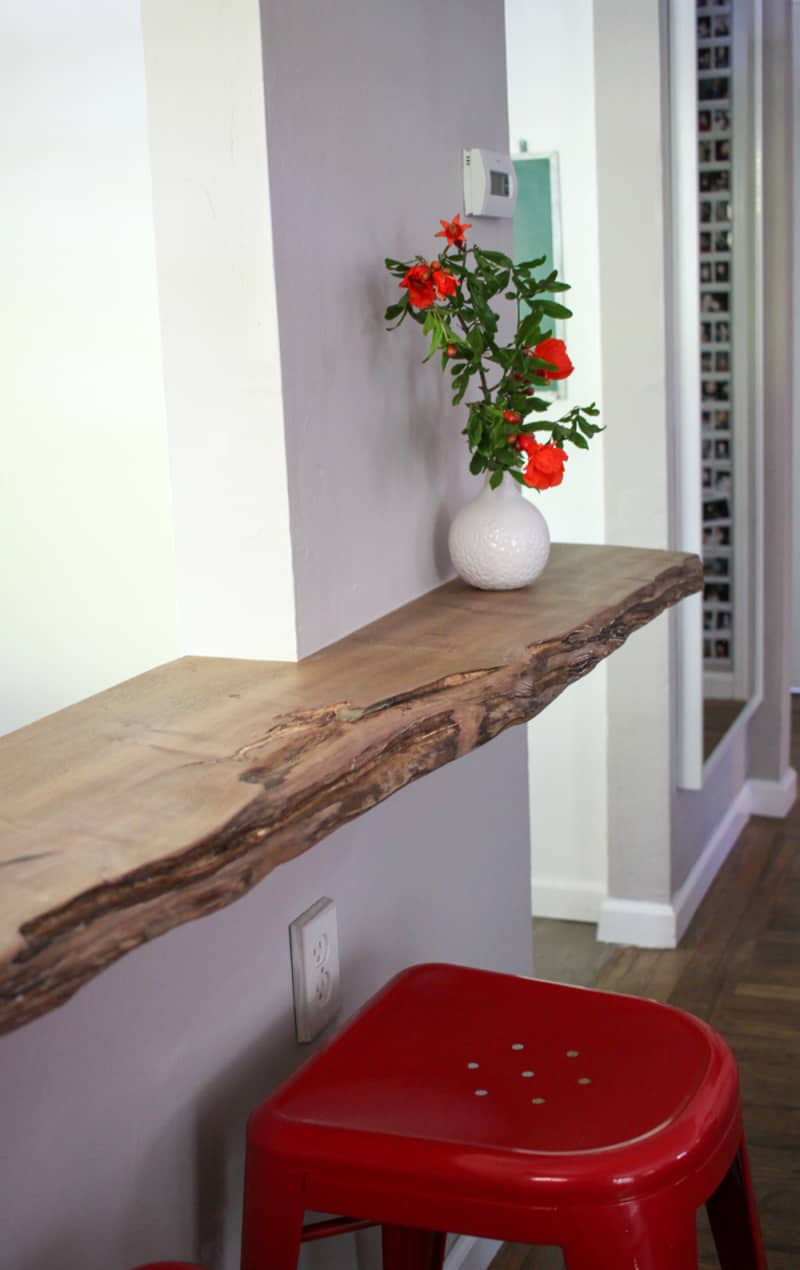 DIY Live Edge Counter Project