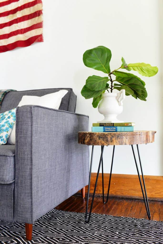 DIY Live Edge Side Table Project