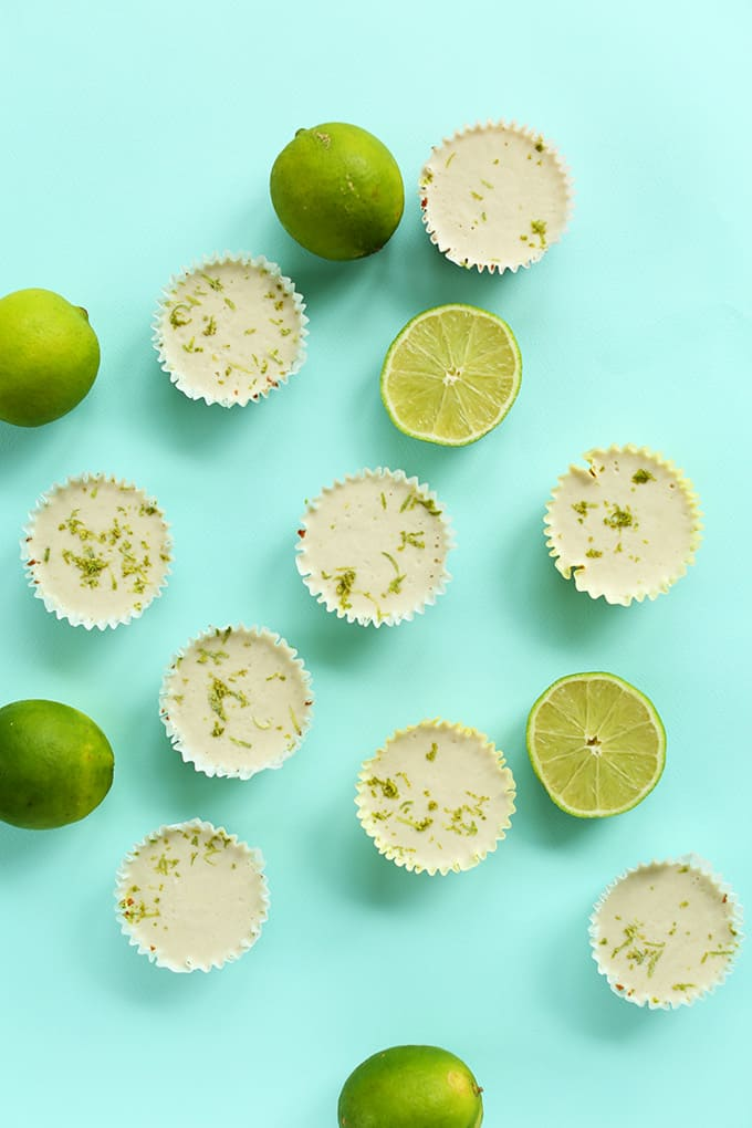 Vegan Dessert Recipes. Mini Vegan Key Lime Pies