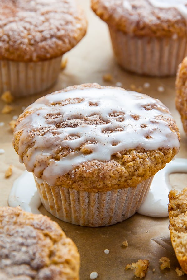 Cinnamon Sugar Doughnut Muffins - Best Vegan Desserts
