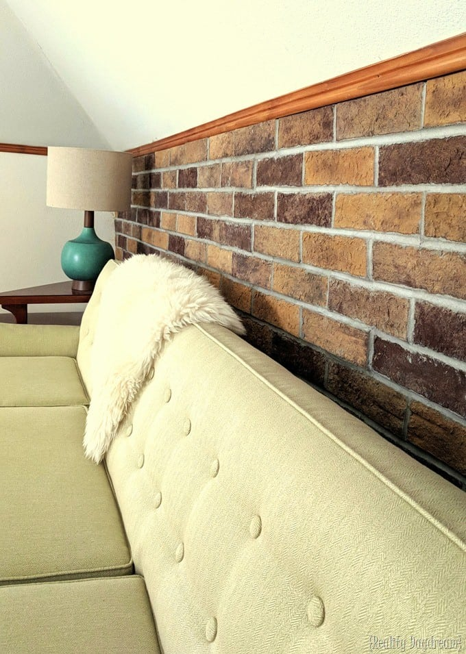 DIY Brick Accent Statement Wall
