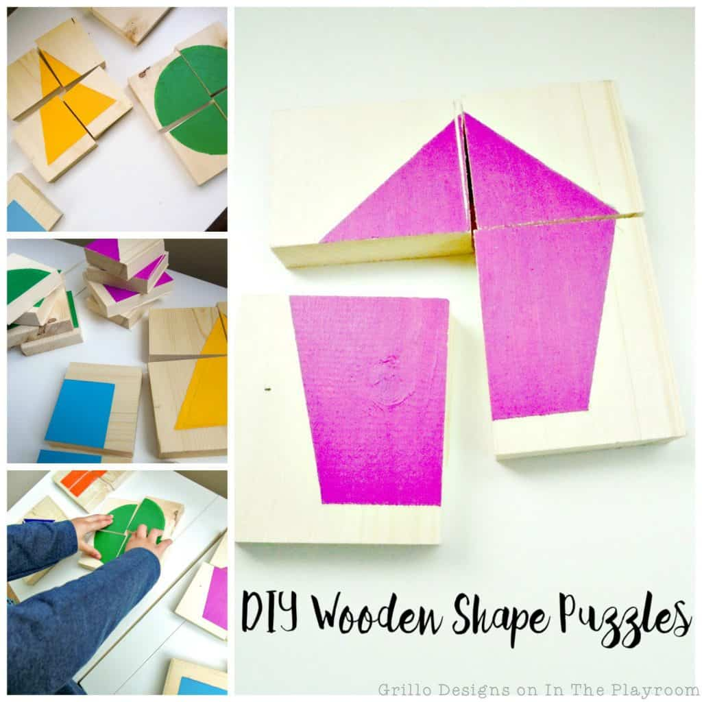 Simple DIY Wooden Puzzle Toy