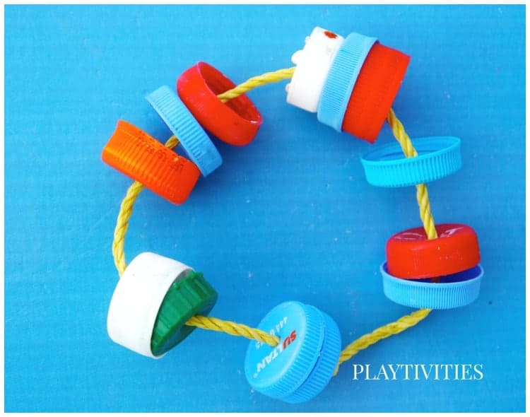 DIY recycled baby toy