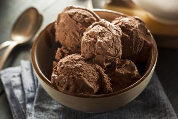 Homemade Vegan Chocolate Ice Cream. Vegan Avocado Ice Cream Recipe