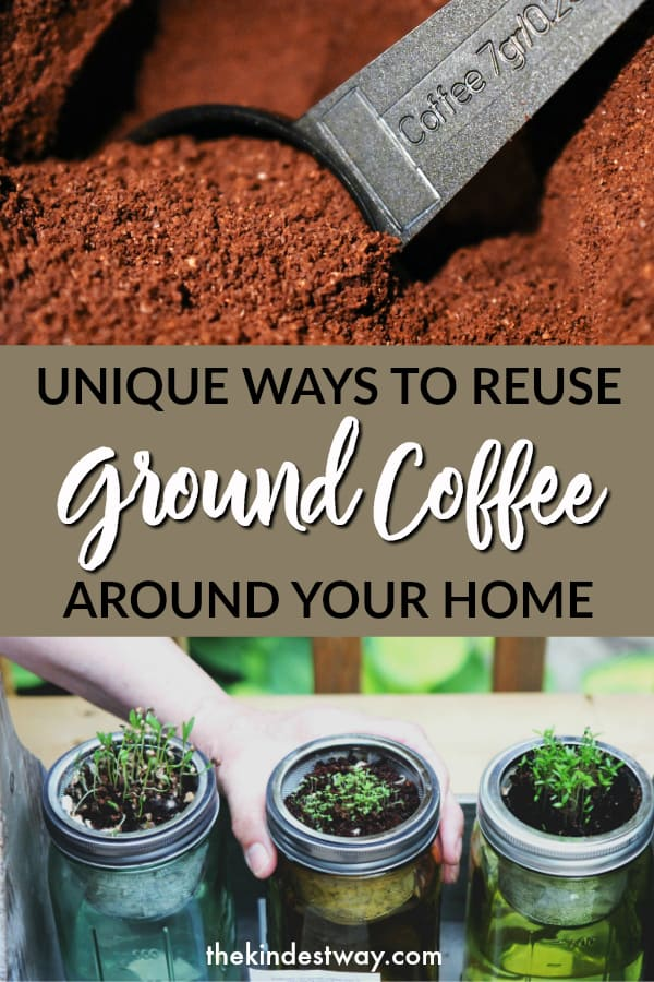 How to reuse coffee grounds around your home. Tried and tested ways to utilise used coffee grounds!