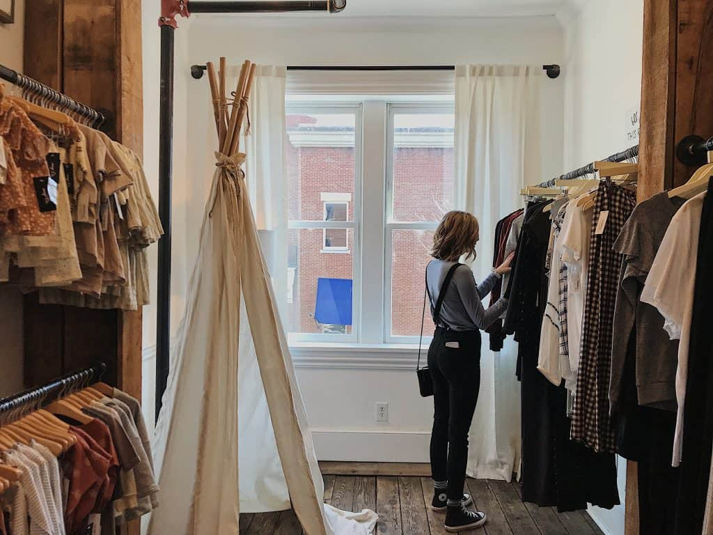 How to shop more sustainably.