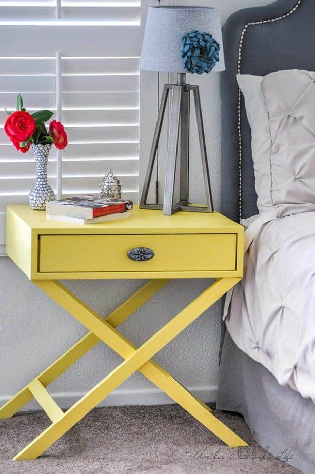 Diy Small Bedside Tables
