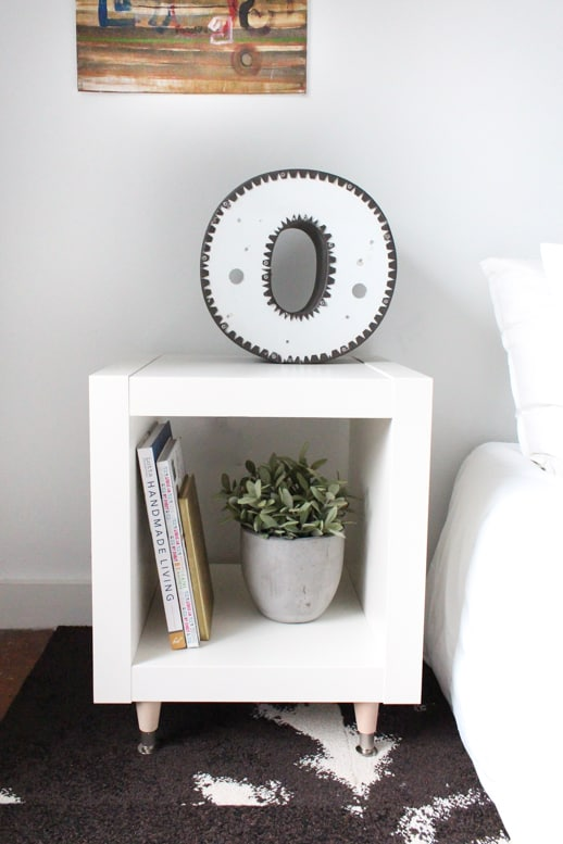 DIY IKEA Hack Bedside table Project