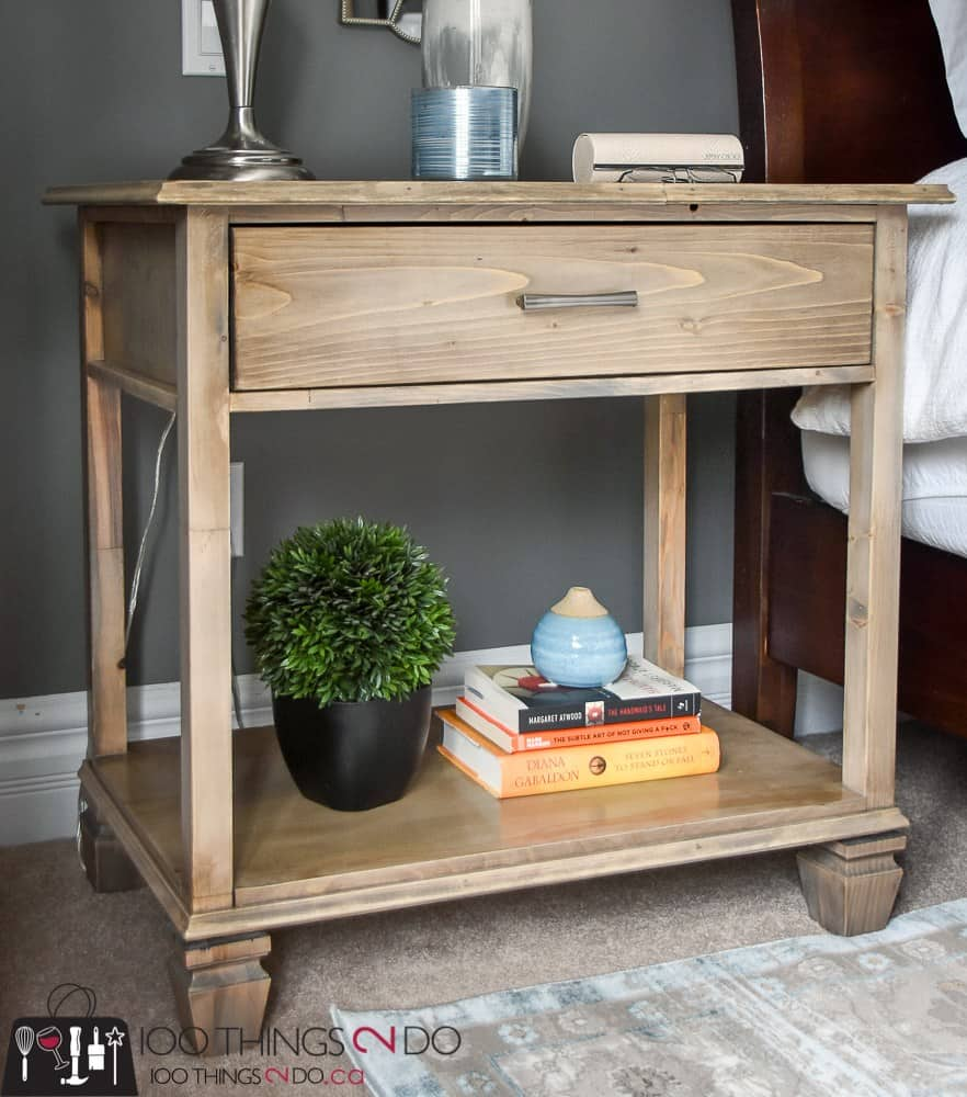 DIY nightstand tutorial