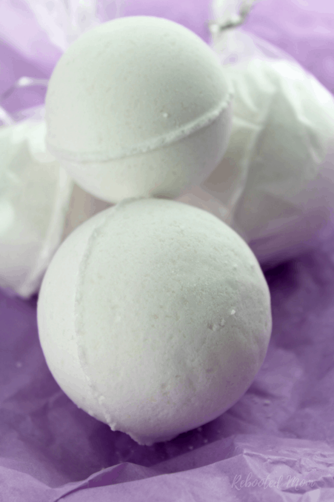 Lavender Bath Bomb Recipe