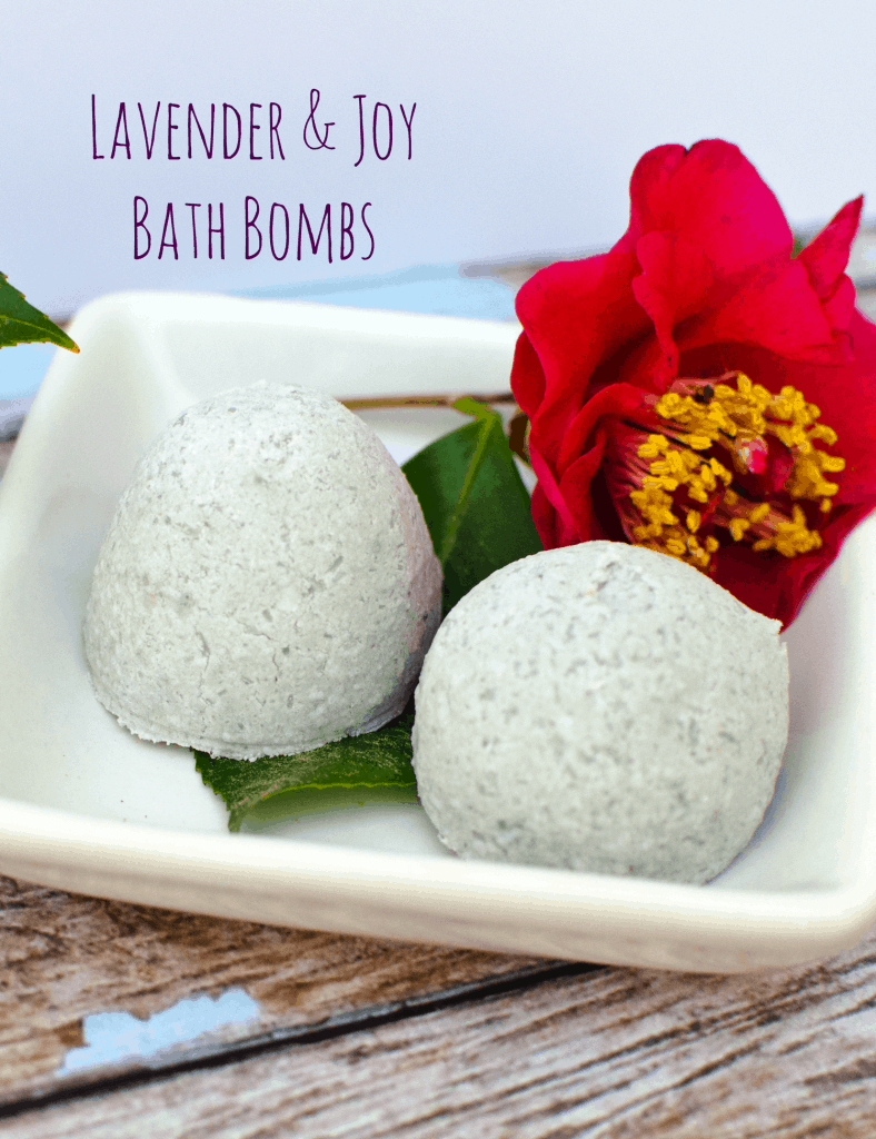 Lavender and joy easy bath bomb recipe - how to make bath bombs