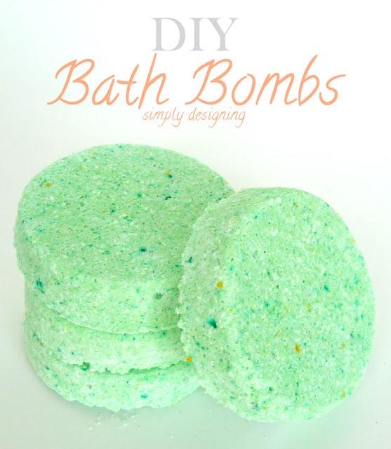 Easy DIY Bath Bombs Recipe