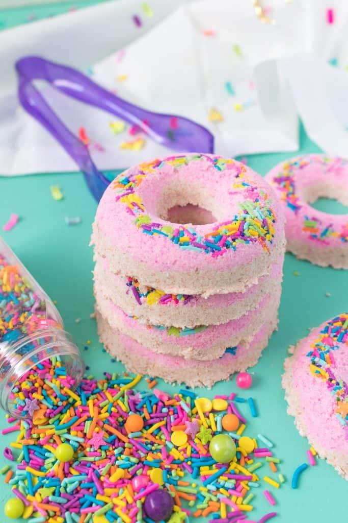 DIY Donut Bath Bombs