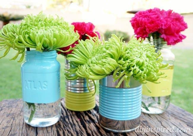 Upcycle tin can ideas