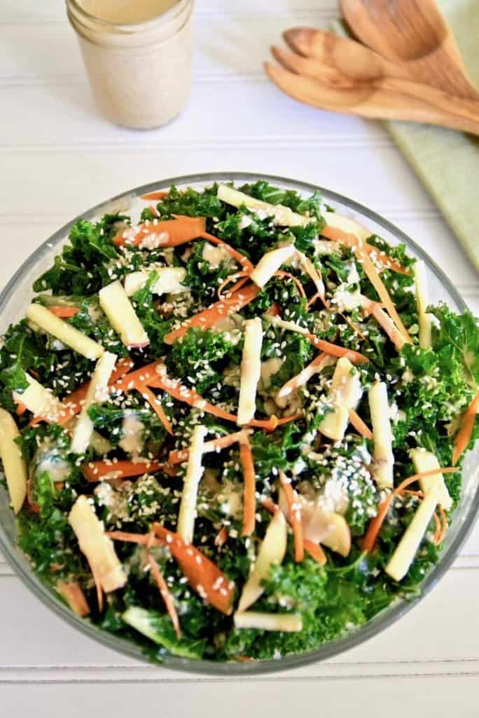 Thai coconut & kale salad recipe