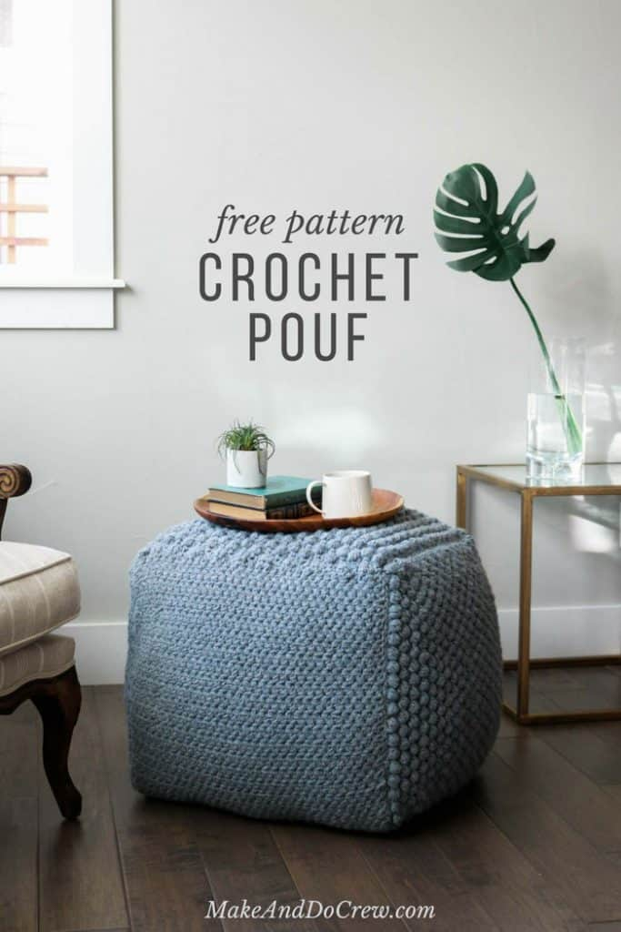 20 Creative And Comfy Diy Poufs Ottomans The Kindest Way
