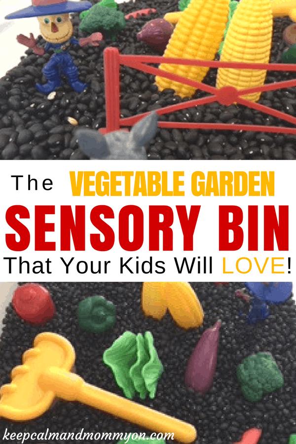 Sensory garden for babies