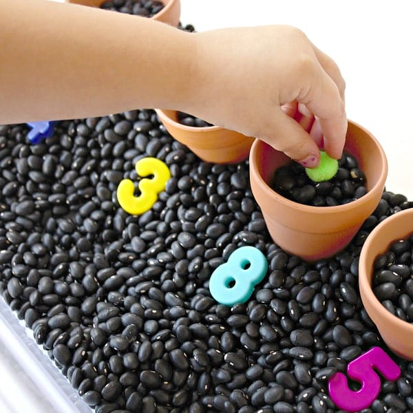 Garden sensory activities for toddlers